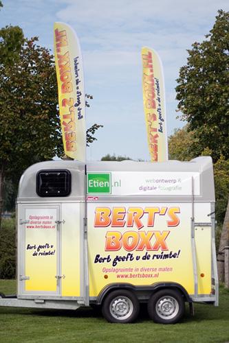 Promotie trailer Bert's Boxx afgeleverd.